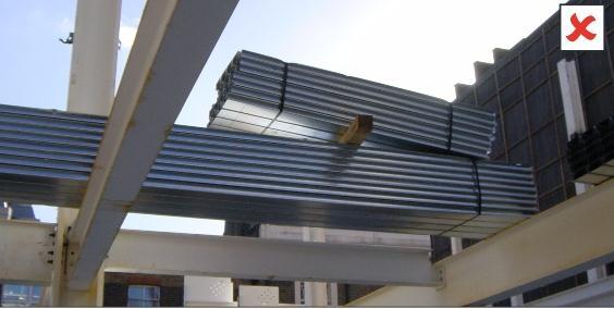 نصب ورق عرشه فولادی-مراحل نصب عرشه فولادی-ورق عرشه فولادی-مراحل تولیدعرشه فولادی
