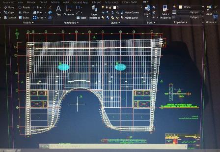شاپ درایینگ عرشه فولادی-تهیه نقشه های عرشه فولادی-ازبیلت عرشه فولادی
