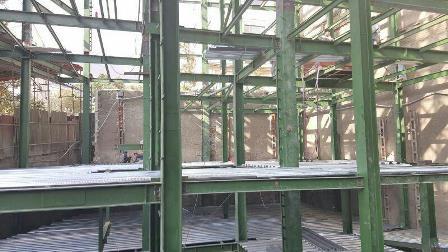 اجرای سقف عرشه فولادی-ورق گالوانیزه
